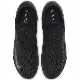 Buty piłkarskie Nike Phantom Vsn 2 Academy Df Tf CD4172 010 czarne czarne 1