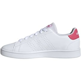 Buty dla dzieci adidas Advantage K białe EF0211 2