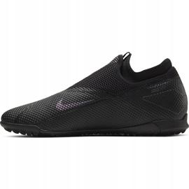 Buty piłkarskie Nike Phantom Vsn 2 Academy Df Tf CD4172 010 czarne czarne 2