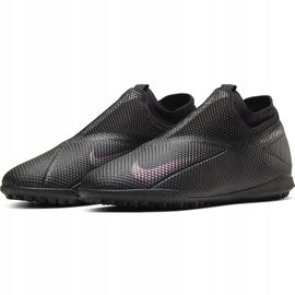 Buty piłkarskie Nike Phantom Vsn 2 Academy Df Tf CD4172 010 czarne czarne 3
