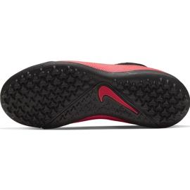 Buty piłkarskie Nike Phantom Vsn 2 Academy Df Tf Junior CD4078 606 czerwone czerwone 7