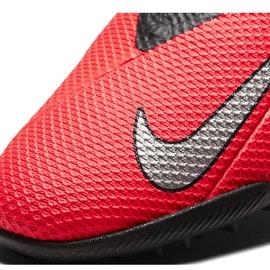 Buty piłkarskie Nike Phantom Vsn 2 Academy Df Tf CD4172 606 czerwone czerwone 5