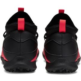 Buty piłkarskie Nike Phantom Vsn 2 Club Df Tf Junior CD4079 606 czerwone czerwone 4