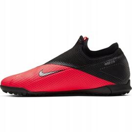 Buty piłkarskie Nike Phantom Vsn 2 Academy Df Tf CD4172 606 czerwone czerwone 2