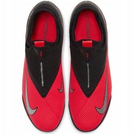 Buty piłkarskie Nike Phantom Vsn 2 Academy Df Tf CD4172 606 czerwone czerwone 1