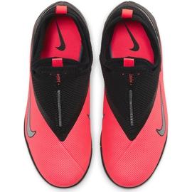 Buty piłkarskie Nike Phantom Vsn 2 Academy Df Tf Junior CD4078 606 czerwone czerwone 1