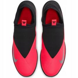 Buty piłkarskie Nike Phantom Vsn 2 Club Df Tf CD4173 606 czerwone czerwone 1