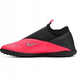Buty piłkarskie Nike Phantom Vsn 2 Club Df Tf CD4173 606 czerwone czerwone 2