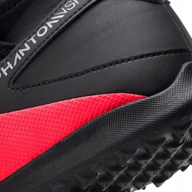 Buty piłkarskie Nike Phantom Vsn 2 Club Df Tf CD4173 606 czerwone czerwone 5