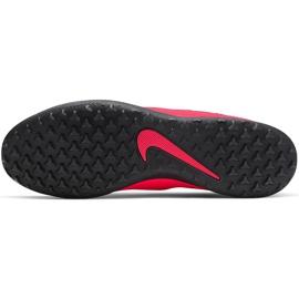 Buty piłkarskie Nike Phantom Vsn 2 Club Df Tf CD4173 606 czerwone czerwone 7
