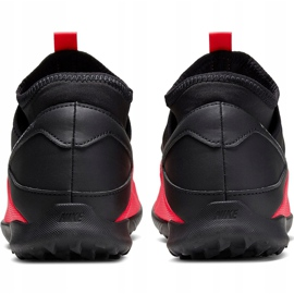 Buty piłkarskie Nike Phantom Vsn 2 Club Df Tf CD4173 606 czerwone czerwone 4