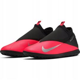 Buty piłkarskie Nike Phantom Vsn 2 Club Df Tf CD4173 606 czerwone czerwone 3