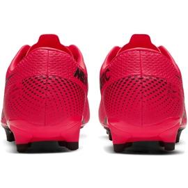 Buty piłkarskie Nike Mercurial Vapor 13 Academy FG/MG AT5269 606 czerwone czerwone 4