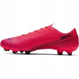 Buty piłkarskie Nike Mercurial Vapor 13 Academy FG/MG AT5269 606 czerwone czerwone 2