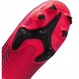 Buty piłkarskie Nike Mercurial Vapor 13 Academy FG/MG AT5269 606 czerwone czerwone 7