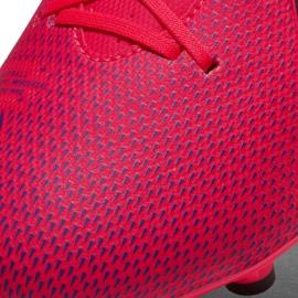 Buty piłkarskie Nike Mercurial Vapor 13 Academy FG/MG AT5269 606 czerwone czerwone 5