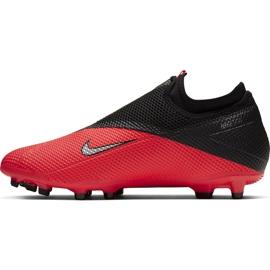 Buty piłkarskie Nike Phantom Vsn 2 Academy Df FG/MG CD4156 606 czerwone czerwone 2
