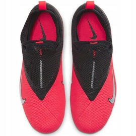 Buty piłkarskie Nike Phantom Vsn 2 Academy Df FG/MG Junior CD4059 606 czerwone wielokolorowe 1