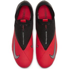 Buty piłkarskie Nike Phantom Vsn 2 Academy Df FG/MG CD4156 606 czerwone czerwone 1