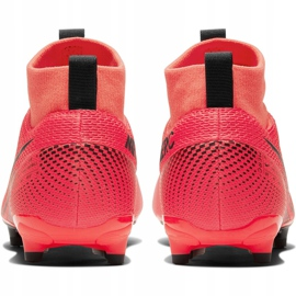 Buty piłkarskie Nike Mercurial Superfly 7 Academy FG/MG Junior AT8120 606 czerwone czerwone 4