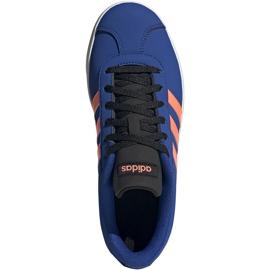 Buty dla dzieci adidas Vl Court 2.0 K niebieskie EG2003 1