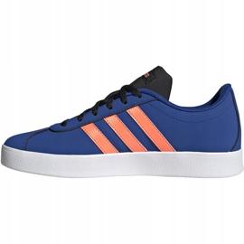 Buty dla dzieci adidas Vl Court 2.0 K niebieskie EG2003 2
