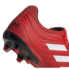 Buty piłkarskie adidas Copa 20.3 Fg czerwone G28551 4