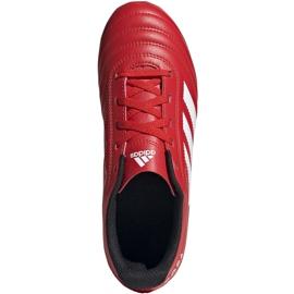 Buty piłkarskie adidas Copa 20.4 Fg Junior czerwone EF1919 1