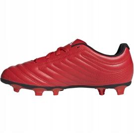 Buty piłkarskie adidas Copa 20.4 Fg Junior czerwone EF1919 2