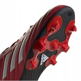 Buty piłkarskie adidas Copa 20.4 Fg Junior czerwone EF1919 5