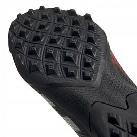 Buty piłkarskie adidas Predator 20.3 Tf czarno-czerwone EF2208 czarne wielokolorowe 5