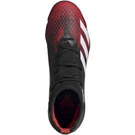 Buty piłkarskie adidas Predator 20.3 Tf czarno-czerwone EF2208 czarne wielokolorowe 1