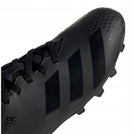 Buty piłkarskie adidas Predator 20.4 FxG Jr EF1932 czarne czarne 3