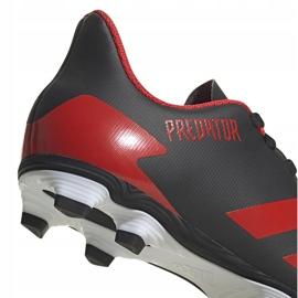 Buty piłkarskie adidas Predator 20.4 FxG Jr EF1931 czarne wielokolorowe 4