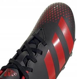 Buty piłkarskie adidas Predator 20.4 FxG Jr EF1931 czarne wielokolorowe 3