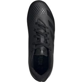 Buty piłkarskie adidas Predator 20.4 FxG Jr EF1932 czarne czarne 1