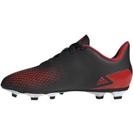 Buty piłkarskie adidas Predator 20.4 FxG Jr EF1931 czarne wielokolorowe 2