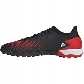 Buty piłkarskie adidas Predator 20.3 Tf EF1996 czarne wielokolorowe 2