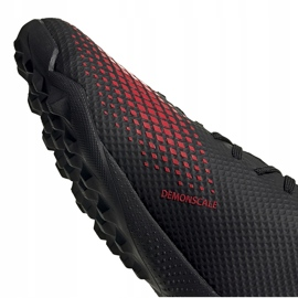 Buty piłkarskie adidas Predator 20.3 Tf EF1996 czarne wielokolorowe 3