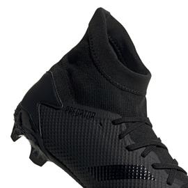 Buty piłkarskie adidas Predator 20.3 Fg EF1634 czarne czarne 4