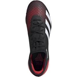 Buty piłkarskie adidas Predator 20.3 Tf EF1996 czarne wielokolorowe 1