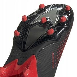 Buty piłkarskie adidas Predator 20.3 L Fg czarne EE9556 wielokolorowe 4