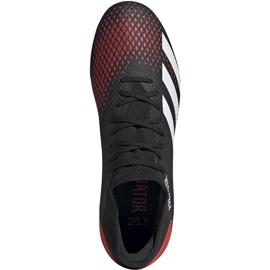 Buty piłkarskie adidas Predator 20.3 L Fg czarne EE9556 wielokolorowe 1