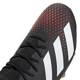 Buty piłkarskie adidas Predator 20.3 L Fg czarne EE9556 wielokolorowe 3