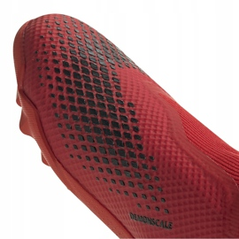 Buty piłkarskie adidas Predator 20.3 Ll Tf EE9576 czerwony,biały czerwone 3