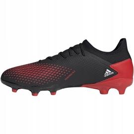 Buty piłkarskie adidas Predator 20.3 L Fg czarne EE9556 wielokolorowe 2