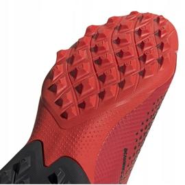 Buty piłkarskie adidas Predator 20.3 Ll Tf EE9576 czerwony,biały czerwone 5