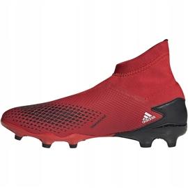 Buty piłkarskie adidas Predator 20.3 Ll Fg EE9554 czerwone czerwone 2