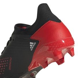 Buty piłkarskie adidas Predator 20.3 L Fg czarne EE9556 wielokolorowe 5