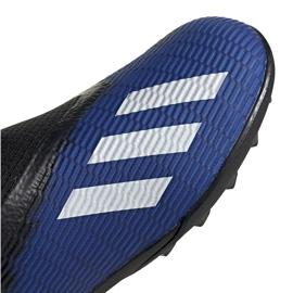 Buty piłkarskie adidas X 19.3 Ll Tf Jr EG9839 niebieskie niebieskie 3